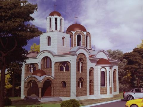 "University's church ""St. Evtimii, Patriarch of Turnovo"