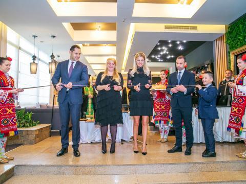 Sharlopov Group officially opened the new hotel section of the Pirin Park Hotel in Sandanski