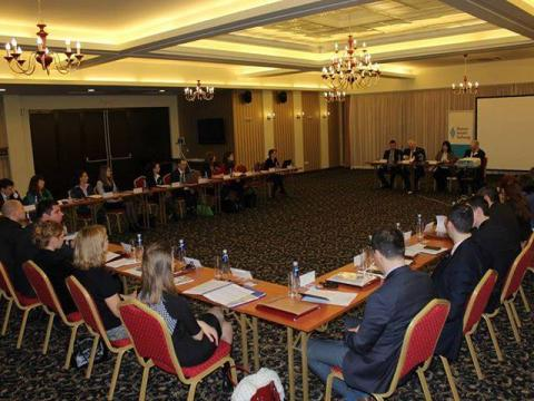 "The ""Winter School of Diplomacy"" International seminar at the Pirin Park Hotel"